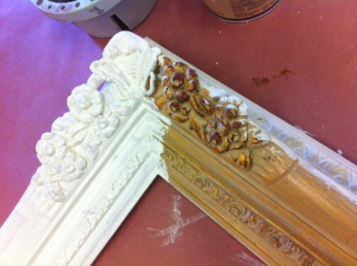 Transforming an old picture frame