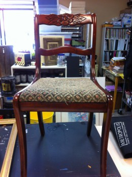 Old chair - ready for transformation
